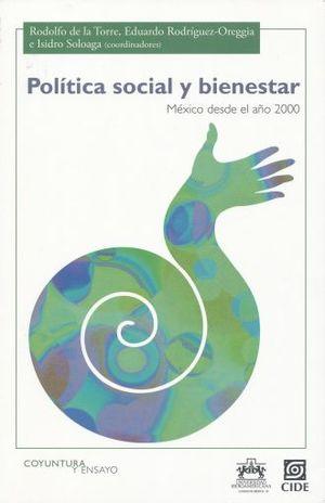POLITICA SOCIAL Y BIENESTAR