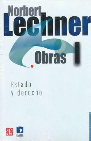 PAQ. NORBERT LECHNER. OBRAS 1 - 4 / ESTADO Y DERECHO / QUE SIGNIFICA HACER POLITICA / DEMOCRACIA Y UTOPIA / POLITICA Y SUBJETIVIDAD