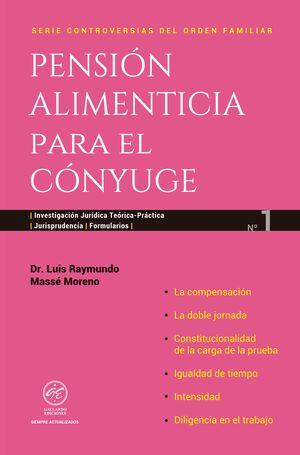 PENSION ALIMENTICIA PARA EL CONYUGE