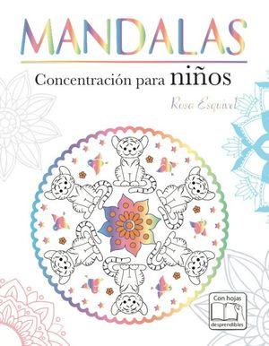 Mandalas concentracion para niños