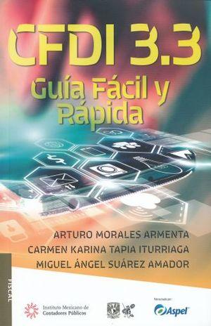 CFDI 3.3. GUIA FACIL Y RAPIDA