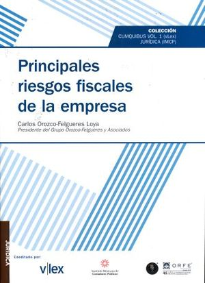PRINCIPALES RIESGOS FISCALES DE LA EMPRESA / VOL. 1