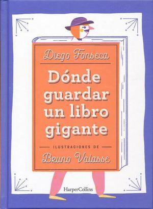DONDE GUARDAR UN LIBRO GIGANTE / PD.