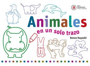 Animales en un solo trazo / pd.