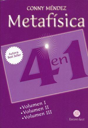 PAQ. METAFISICA 4 EN 1 / VOL. 1 / VOL. 2 / VOL. 3