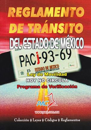 Reglamento de tránsito del Estado de México