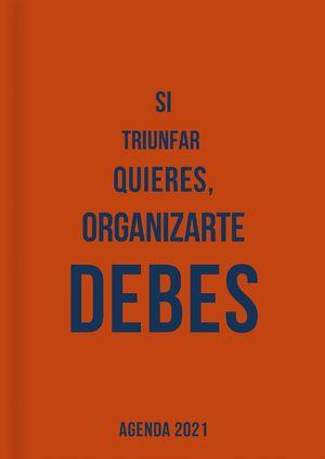 Agenda si triunfar quieres, organizarte debes