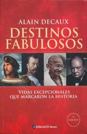 DESTINOS FABULOSOS / 2 ED.
