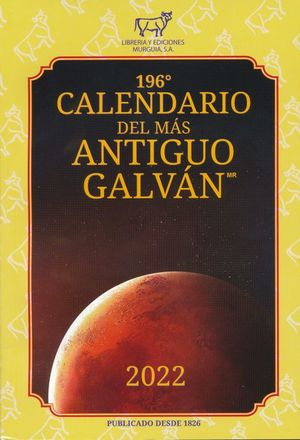 193 CALENDARIO DEL MAS ANTIGUO GALVAN 2019