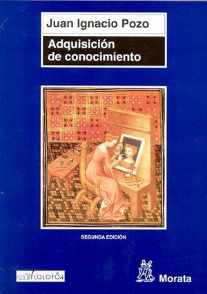 ADQUISICION DE CONOCIMIENTO / 2 ED.