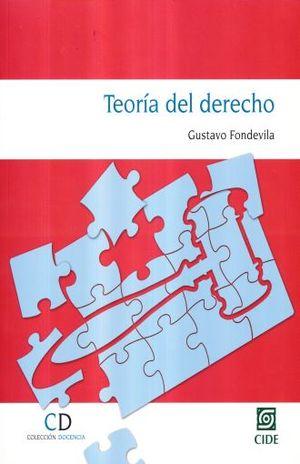 TEORIA DEL DERECHO (INCLUYE CD)