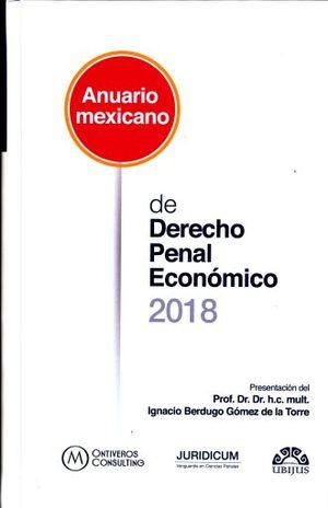 ANUARIO MEXICANO DE DERECHO PENAL ECONOMICO 2015