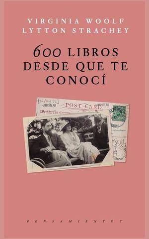600 LIBROS DESDE QUE TE CONOCI