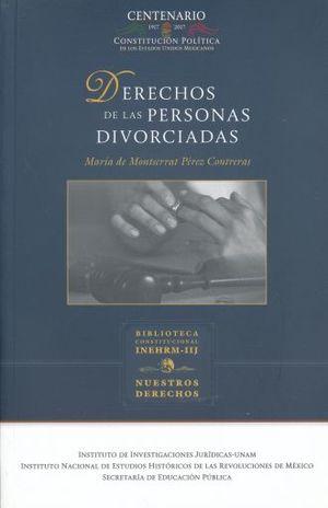 DERECHOS DE LAS PERSONAS DIVORCIADAS / 3 ED.