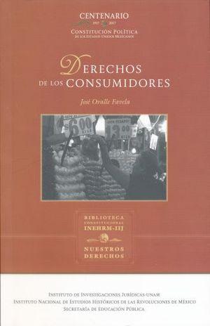 DERECHOS DE LOS CONSUMIDORES / 3 ED.