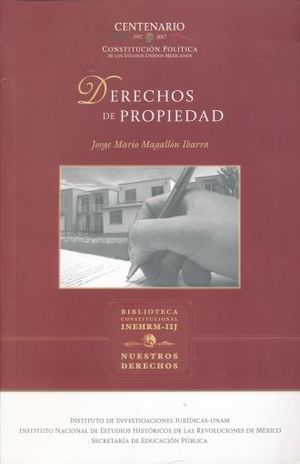 DERECHOS DE PROPIEDAD / 3 ED.