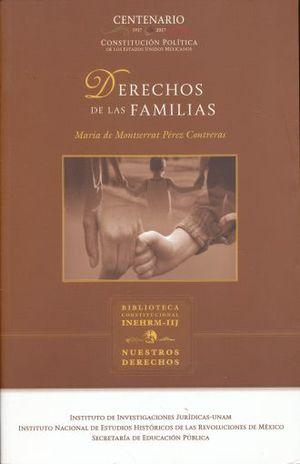 DERECHOS DE LAS FAMILIAS / 3 ED.