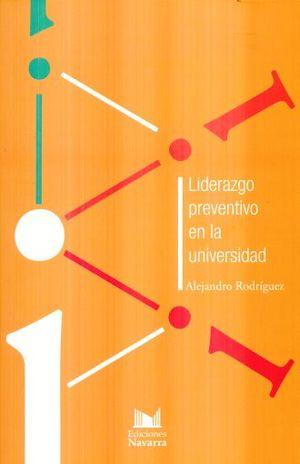 LIDERAZGO PREVENTIVO EN LA UNIVERSIDAD