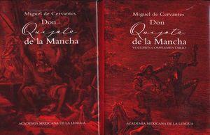 DON QUIJOTE DE LA MANCHA / 2 TOMOS / PD.