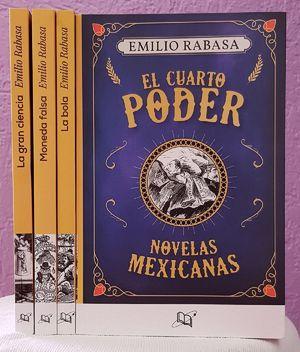 Paquete novelas mexicanas. El cuarto poder / La bola / Moneda falsa / La gran ciencia