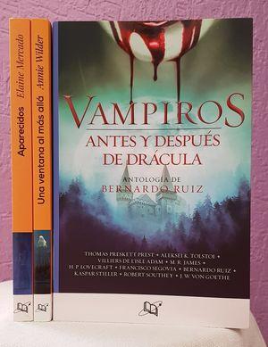 Paquete terror y suspenso. Vampiros / Una ventana al más allá / Aparecidos