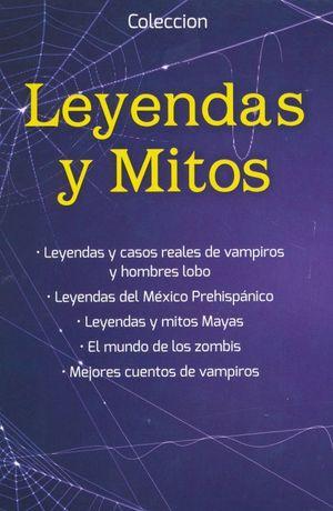 PAQUETE LEYENDAS Y MITOS (INCLUYE 5 TITULOS)