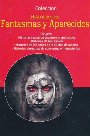 PAQUETE HISTORIAS DE FANTASMAS Y APARECIDOS (INCLUYE 5 TITULOS)