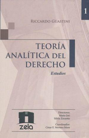 TEORIA ANALITICA DEL DERECHO / VOL. I