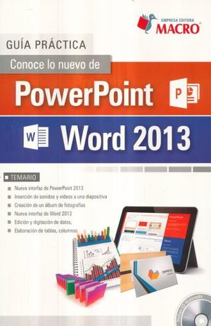 Conoce lo nuevo de PowerPoint y Word 2013