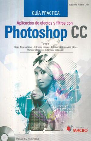 Aplicación de efectos y filtros con Photoshop CC
