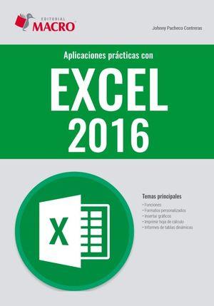 Aplicaciones prácticas con Excel 2016