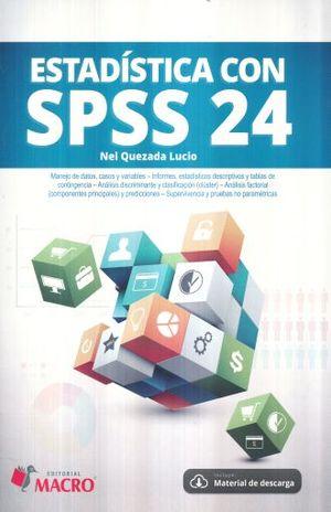 ESTADISTICA CON SPSS 24