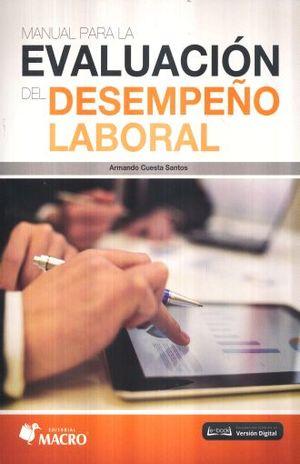MANUAL PARA LA EVALUACION DEL DESEMPEÑO LABORAL