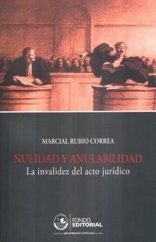 NULIDAD Y ANULABILIDAD. LA INVALIDEZ DEL ACTO JURIDICO / 7 ED.