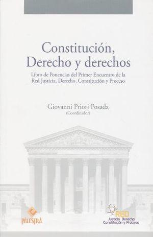 CONSTITUCION DERECHO Y DERECHOS