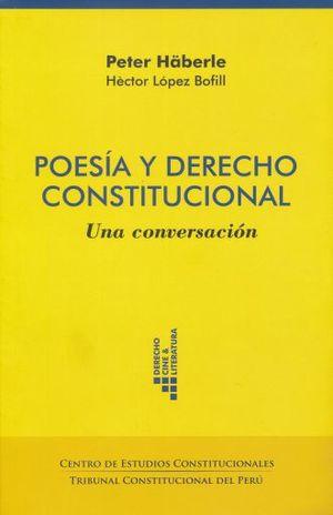 POESIA Y DERECHO CONSTITUCIONAL
