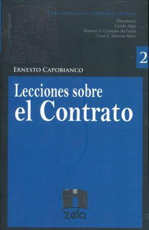 LECCIONES SOBRE EL CONTRATO / VOL. 2