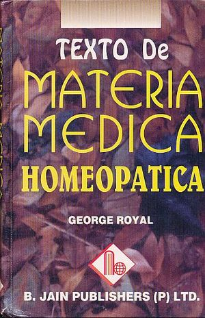 TEXTOS DE MATERIA MEDICA HOMEOPATICA