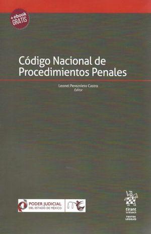 CODIGO NACIONAL DE PROCEDIMIENTOS PENALES (INCLUYE EBOOK)