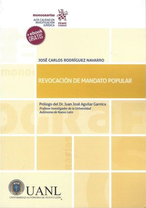 REVOCACION DE MANDATO POPULAR (EBOOK GRATIS)