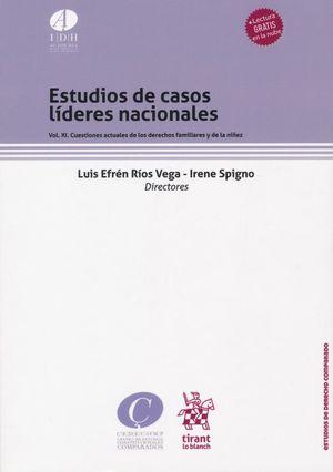 Estudios de casos líderes nacionales. Cuestiones actuales de los derechos familiares y de la niñez / vol. 11 / (lectura gratis en la nube)