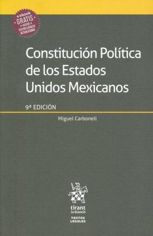 CONSTITUCION POLITICA DE LOS ESTADOS UNIDOS MEXICANOS / EBOOK GRATIS / 9 ED.