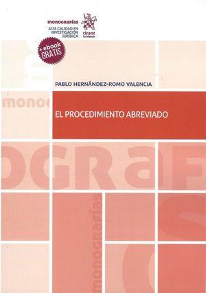 PROCEDIMIENTO ABREVIADO, EL (EBOOK GRATIS)
