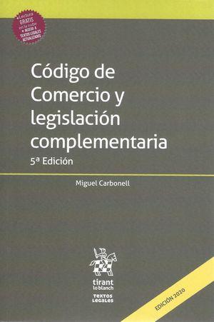 Código de Comercio y Legislación Complementaria / 5 ed.