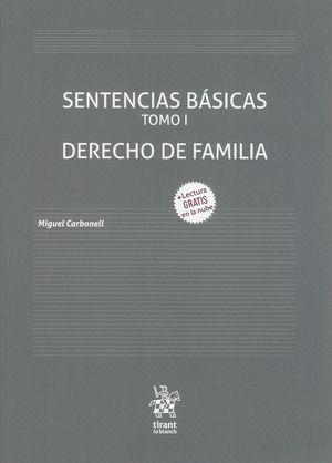 Sentencias Básicas / Tomo 1. Derecho de Familia