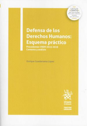 Defensa de los Derechos Humanos: Esquema práctico.