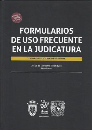 Formularios de uso Frecuente en la judicatura / pd.