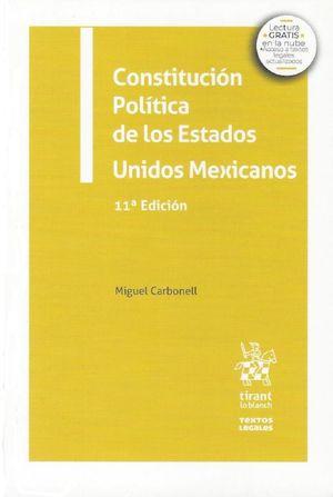 Constitución Política de los Estados Unidos Mexicanos / 11 ed.