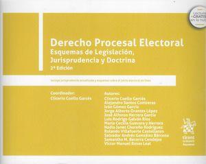 Derecho procesal electoral. Esquemas de legislación, jurisprudencia y doctrina / 2 ed.