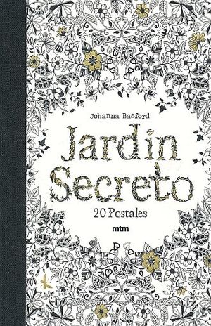 JARDIN SECRETO. 20 POSTALES / PD.